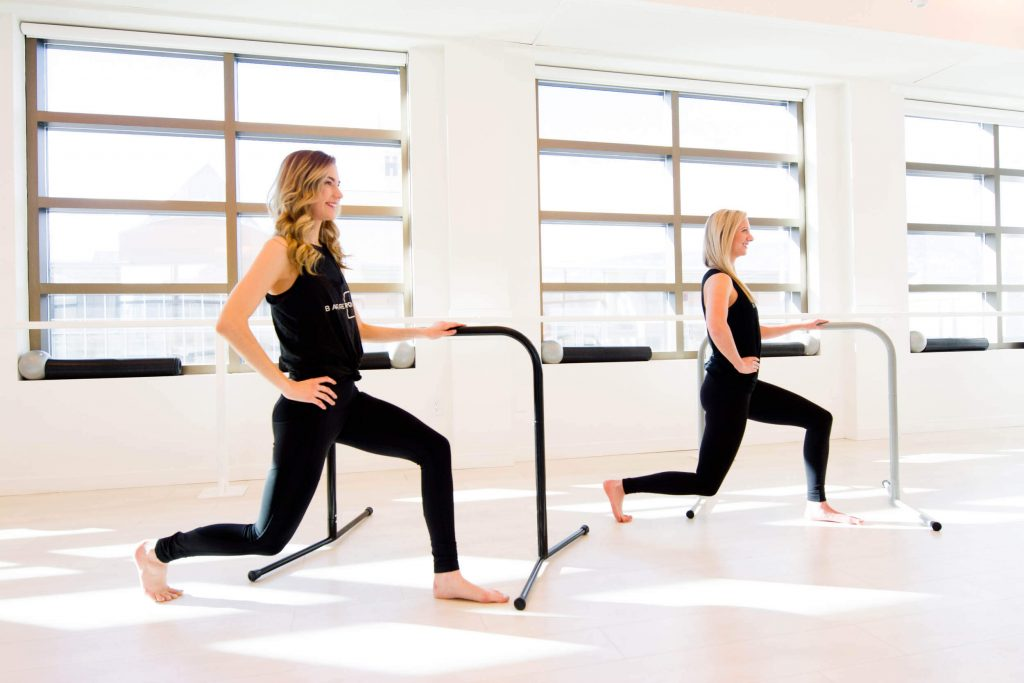 fitness barres fit-outs lunges